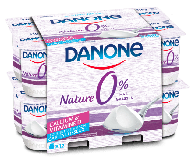 Danone 0% Nature