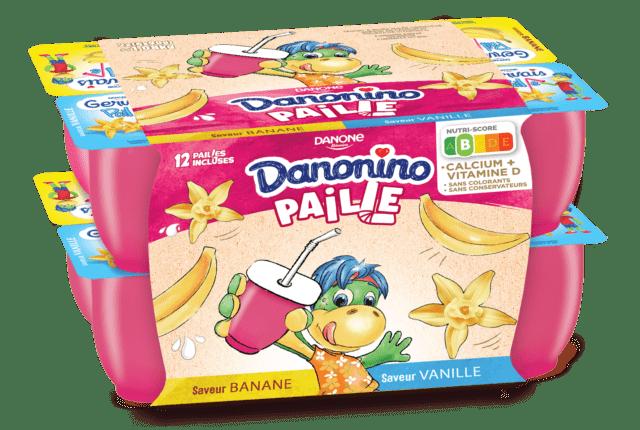 Danonino Paille Vanille Banane