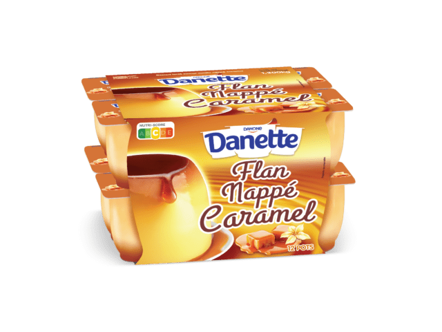 Danette Flan Nappé Caramel