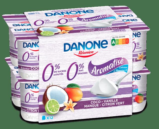 Danone Aromatisée 0%