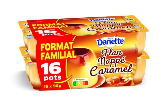 Danette Flan Caramel x16