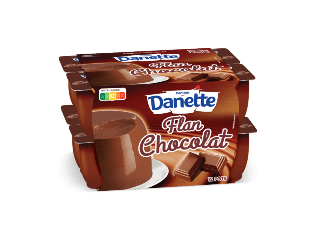 Danette flan chocolat