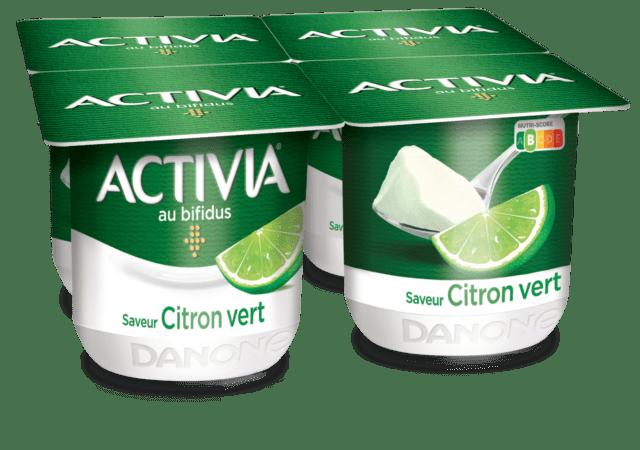 Activia Citron Vert