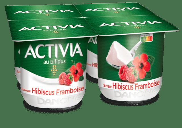Activia Hibiscus-Framboise