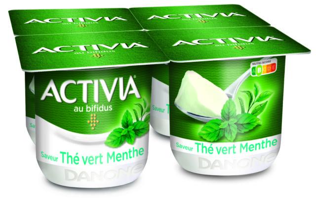 Activia Thé Vert Menthe