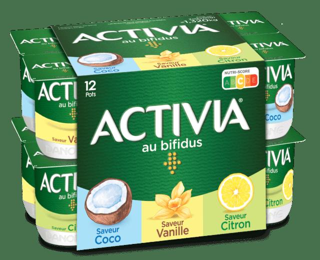 Activia Coco Vanille Citron