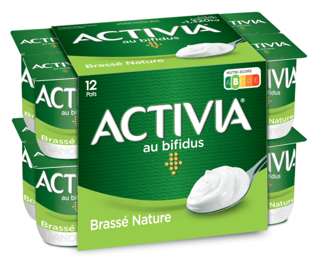 Activia Brassé Nature