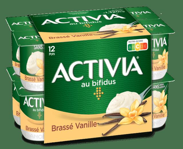 Activia Brassé Vanille